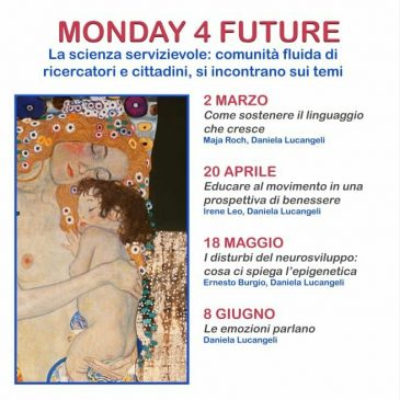 "Serie di incontri ""Monday 4 Future"""
